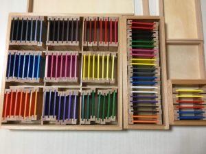 色板の画像